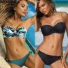 Front Twist Classic Bikini Set